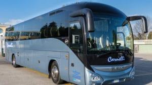 noleggio autobus 53 o 56 posti milano